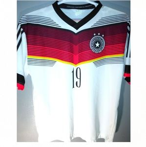 Germany soccer jersey #19 GOTZE MADE IN ITALY
